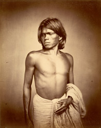 Portrait of a man, Eastern Bengal. 22